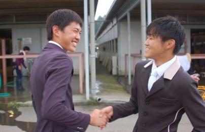 祝!全日本ジュニア馬場馬術大会