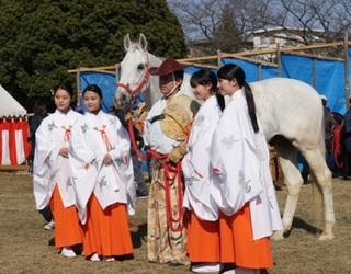 美多彌神社(みたみじんじゃ)流鏑馬祭りレポート2