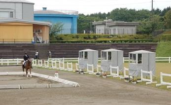クレイン審判アカデミー第一期生、アジア競技大会馬場馬術代表人馬選考競技会セクレタリーレポート♪